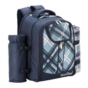 Handbags - VonShef 4 Person Picnic Backpack